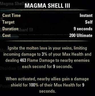 Magma Shell(マグマ・シェル)