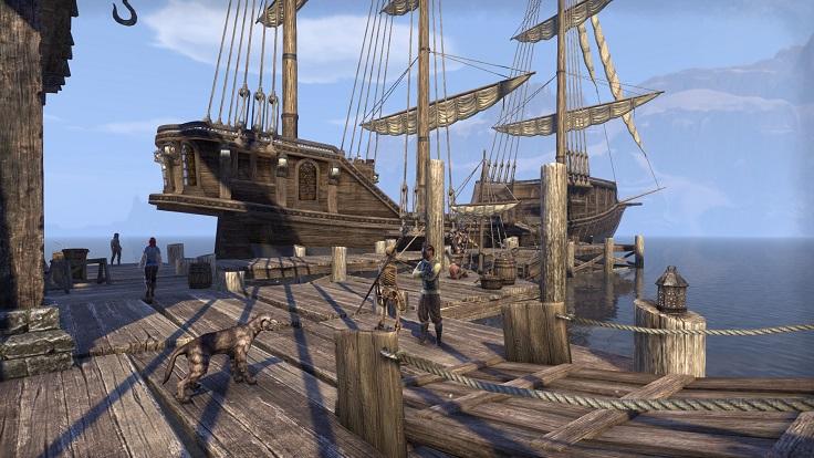 Stormhavenから船でAlik'r Desertへ