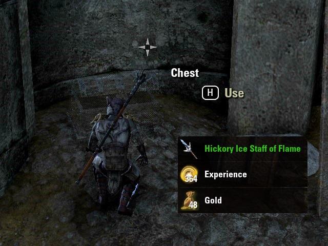 Fardir's Follyで宝箱を発見