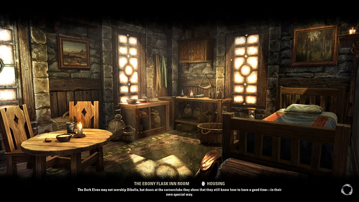 The Ebony Flask Inn Roomのロード画面