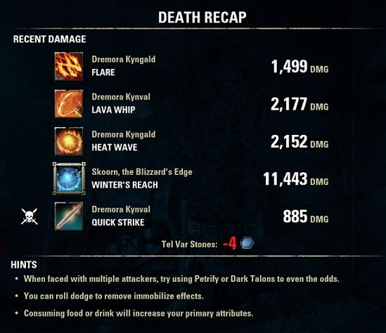Skoorn, the Blizzard's Edge 11,443DMG