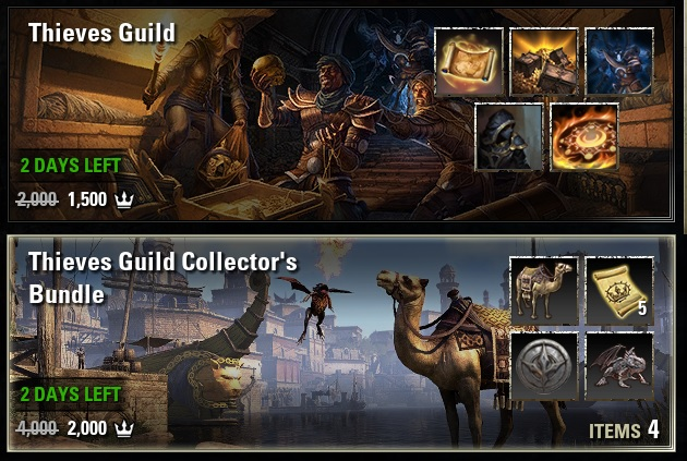 Thieves Guild Collector's Bundle