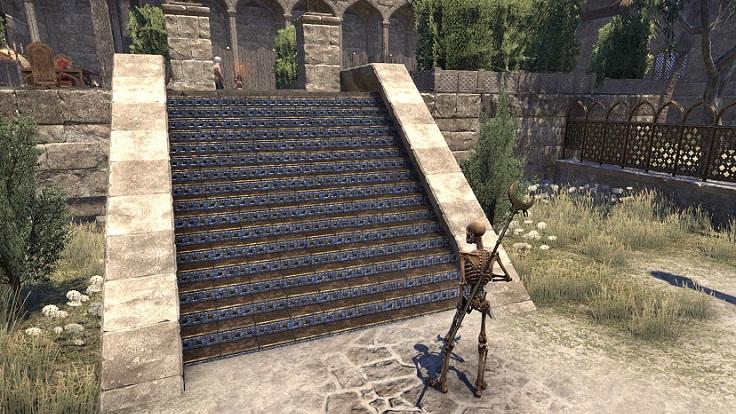 Abah's Landingの青い階段