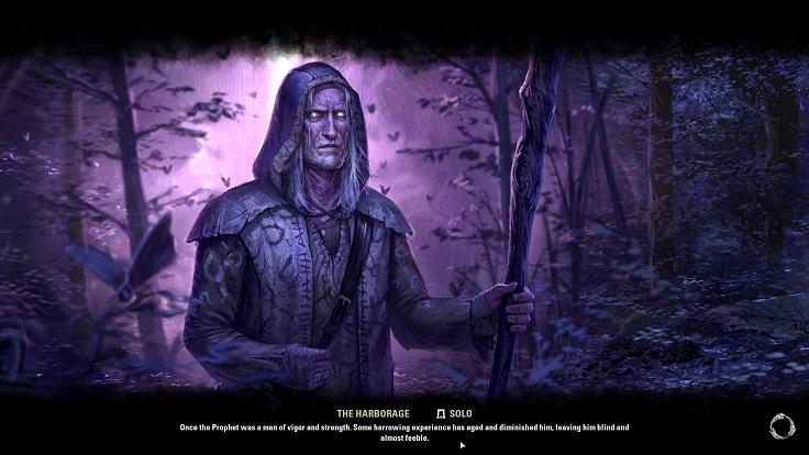 The Harborageのロード画面(預言者)