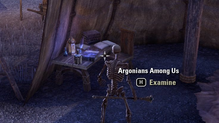 伝説の書物゛Argonians Among Us""