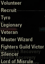 """Title """"Master Wizard"""""""