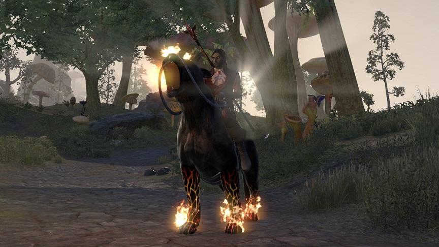 騎乗動物「ナイトメア・センチ」